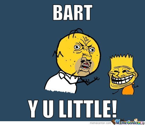 Bart Y U Little