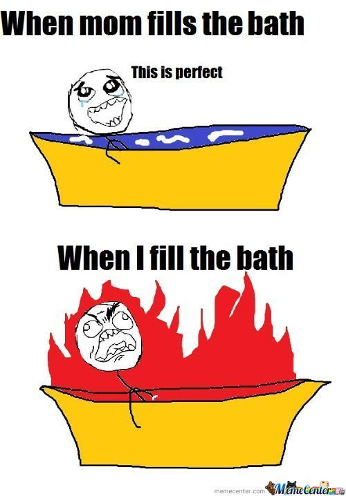 Bath Is Hard You Kow