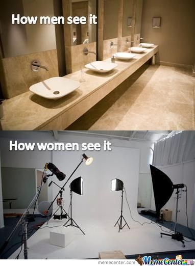 Bathrooms ...