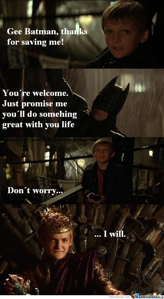 Batman - Game Of Thrones