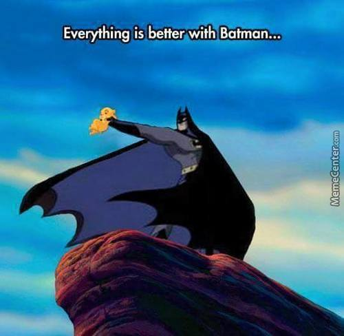 Batman Can Do And Makes Everything Good.