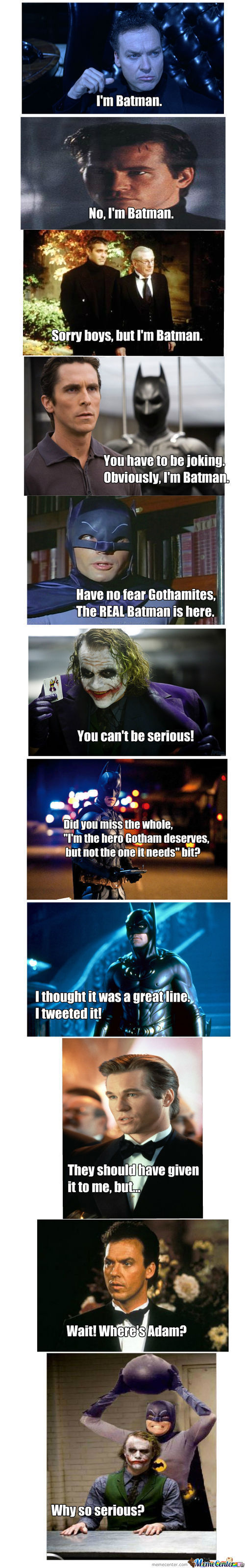 Batman Debate