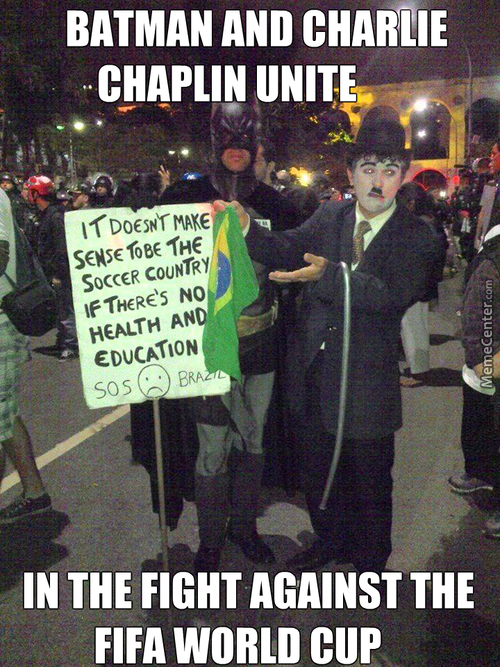 Batman, Get Back To Gotham, I Think The Brazilians Can Handle This Themselfs!