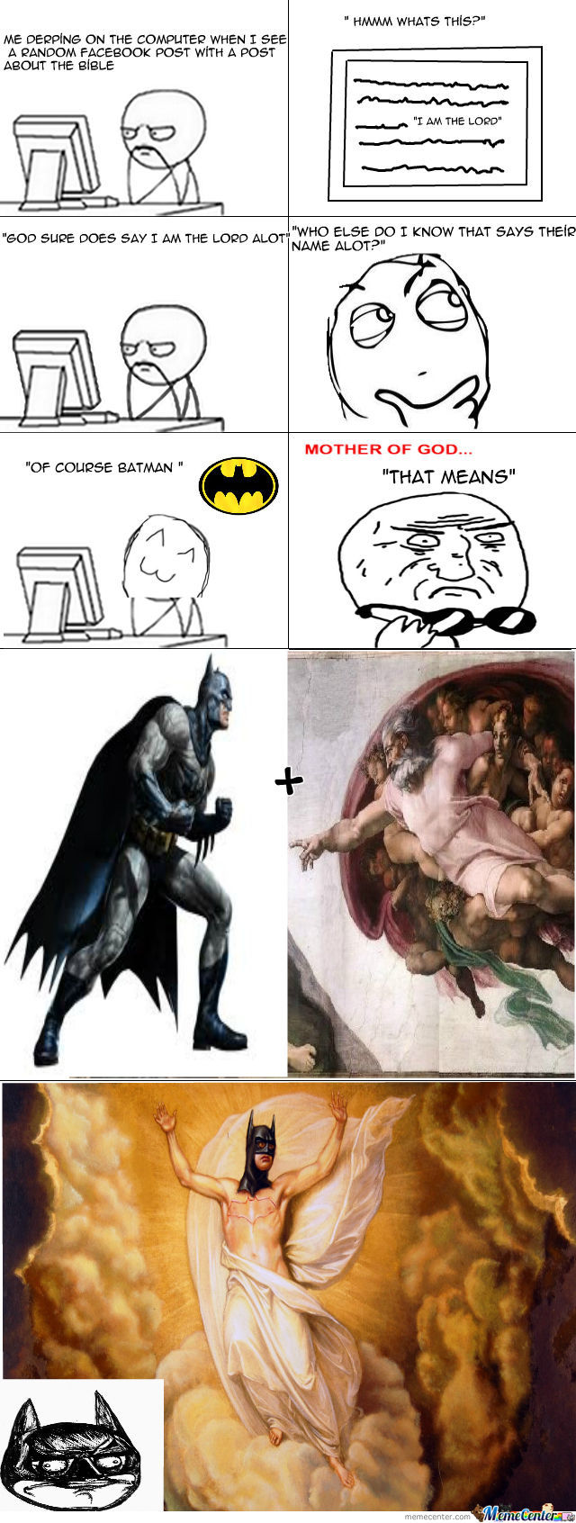 Batman Is God!!!