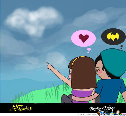 Batman Is Love