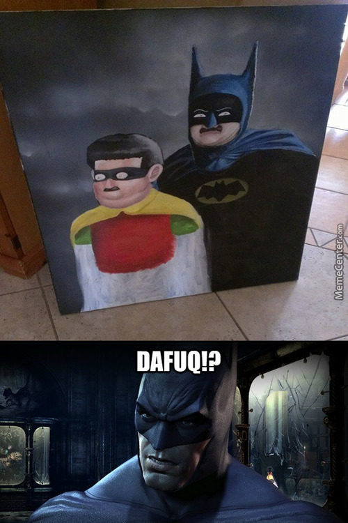 Batman Is Not Amused