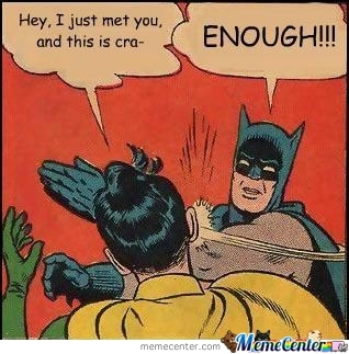 Batman Knows His Stuff