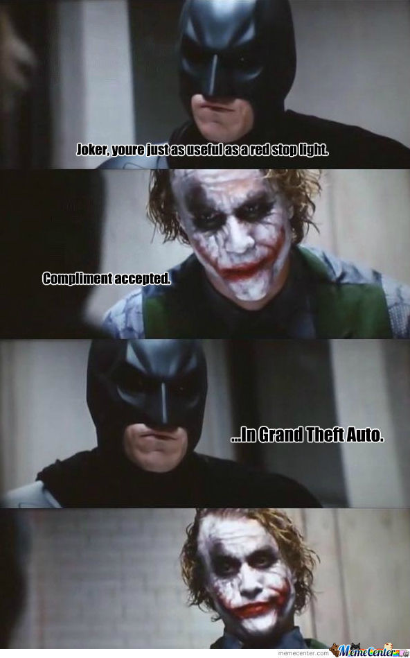 Batman Strikes Again