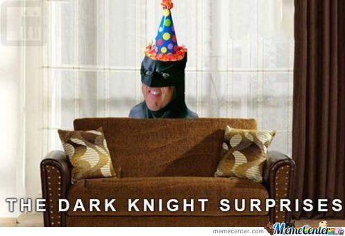 Batman Surprises