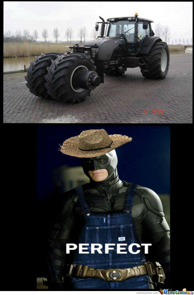 Batman The Farmer