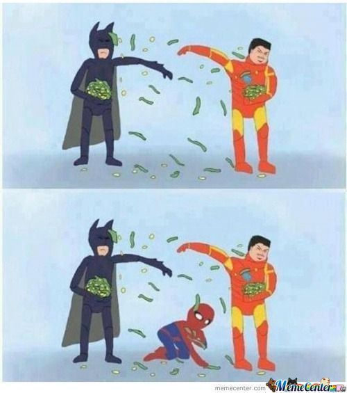 Batman Vs Iron Man