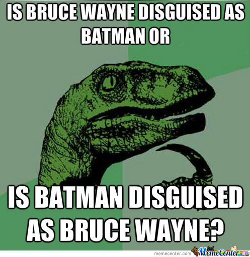 Batman Y U So Confusing!?