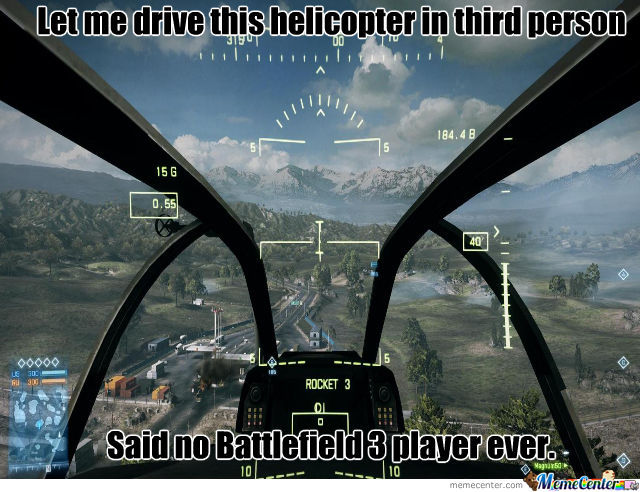 Battlefield 3 Helicopter