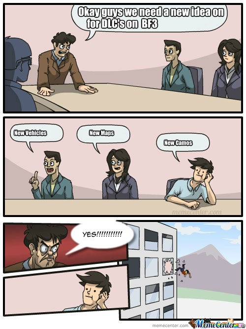 Battlefield 3 When The Ceo Heard About New Camos