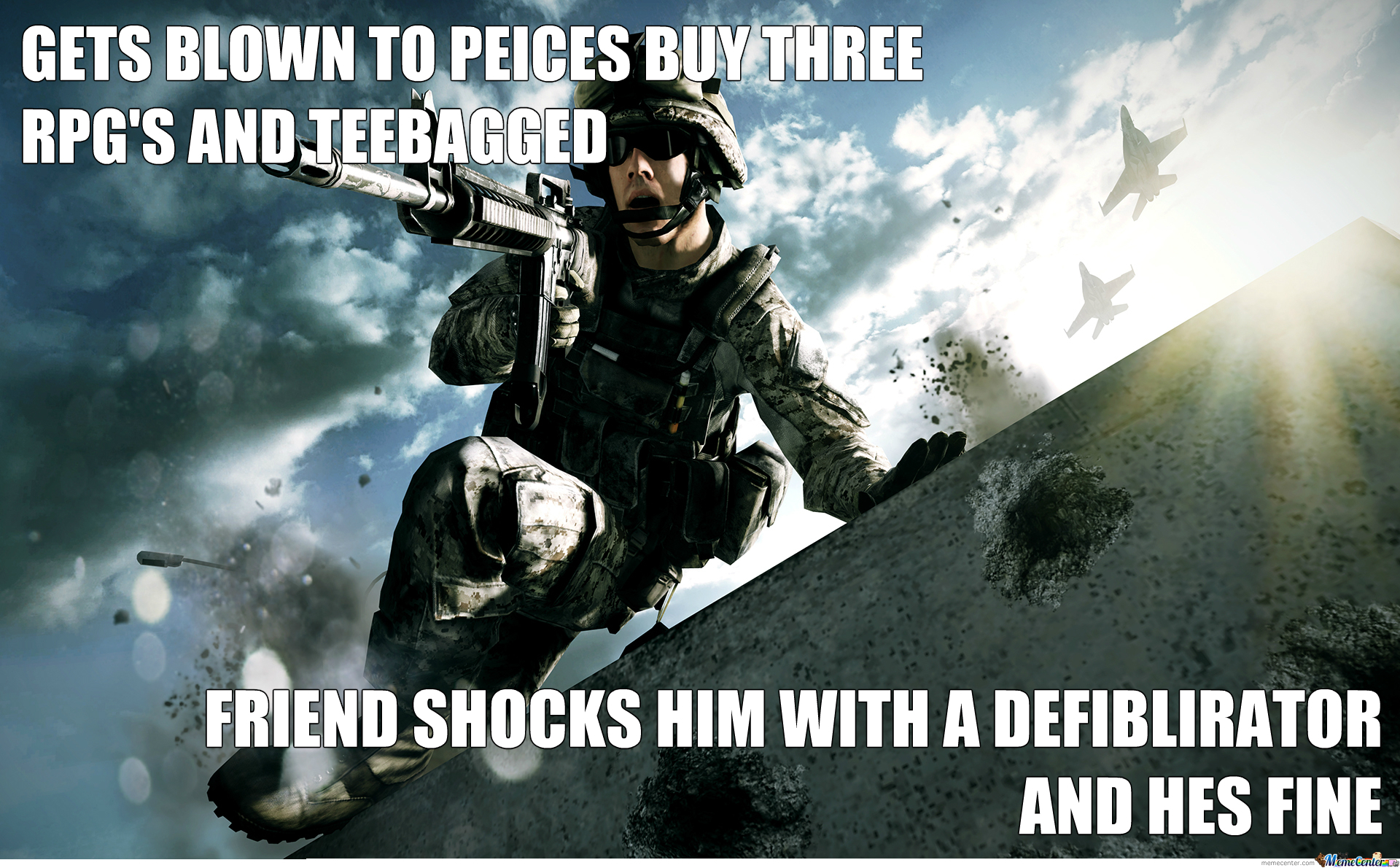 Battlefield, Y U So Realistic?