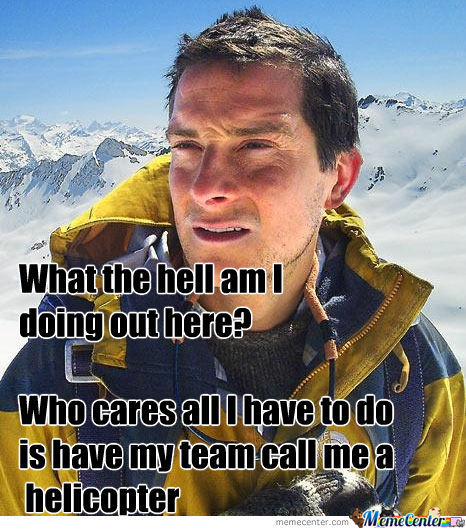 Bear Grylls For Real