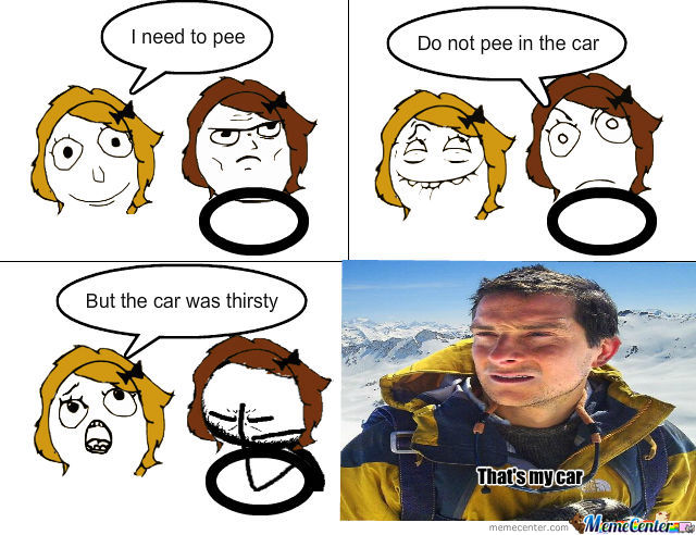 Bear Grylls Found His Car