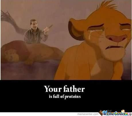 Bear Grylls In Lion King