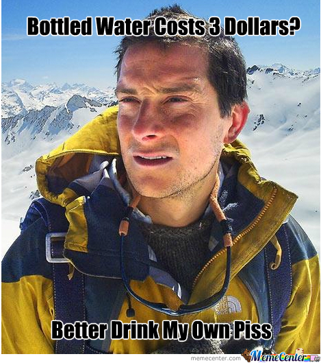 Bear Grylls Is Cheap