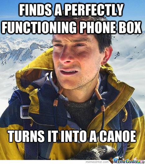 Bear Grylls Logic