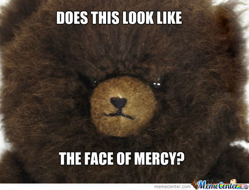 Bear Of Mercy? I Think Not