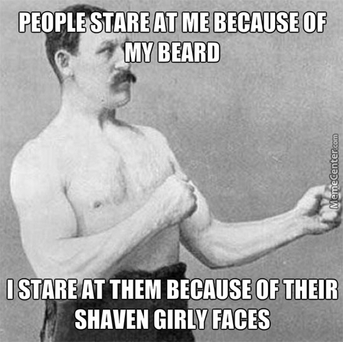 Beards Too Stronk