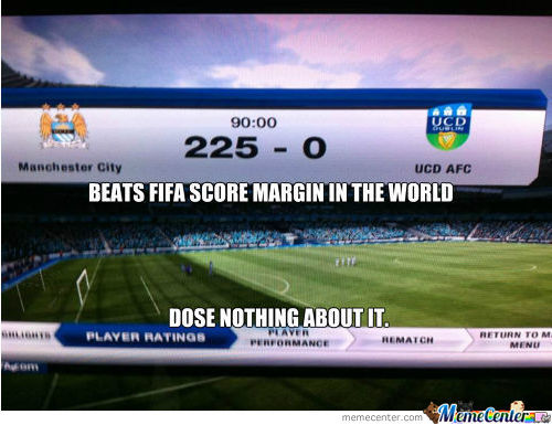 Beats Fifa World Score Margin