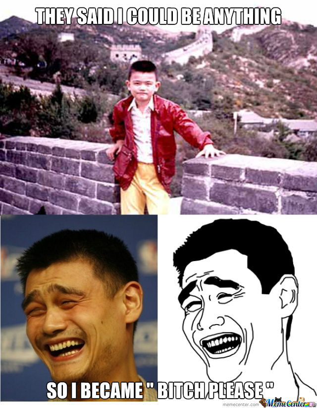Because Being Yao Ming Is Too Mainstream