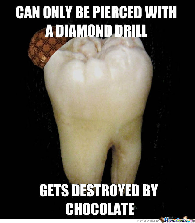 Scumbag teeth