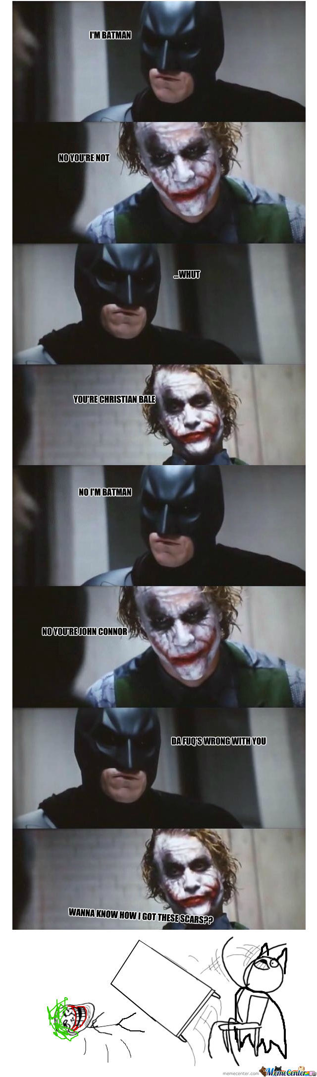 Because Interrogations Are Too Batman