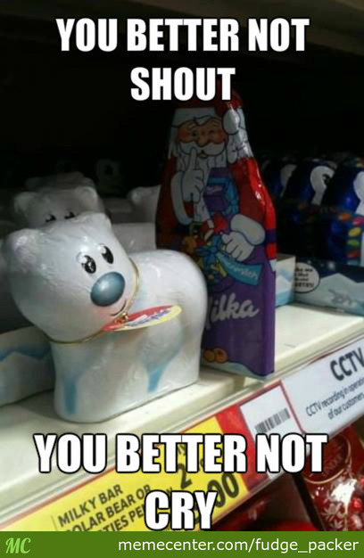 Because Santa Going In Dry