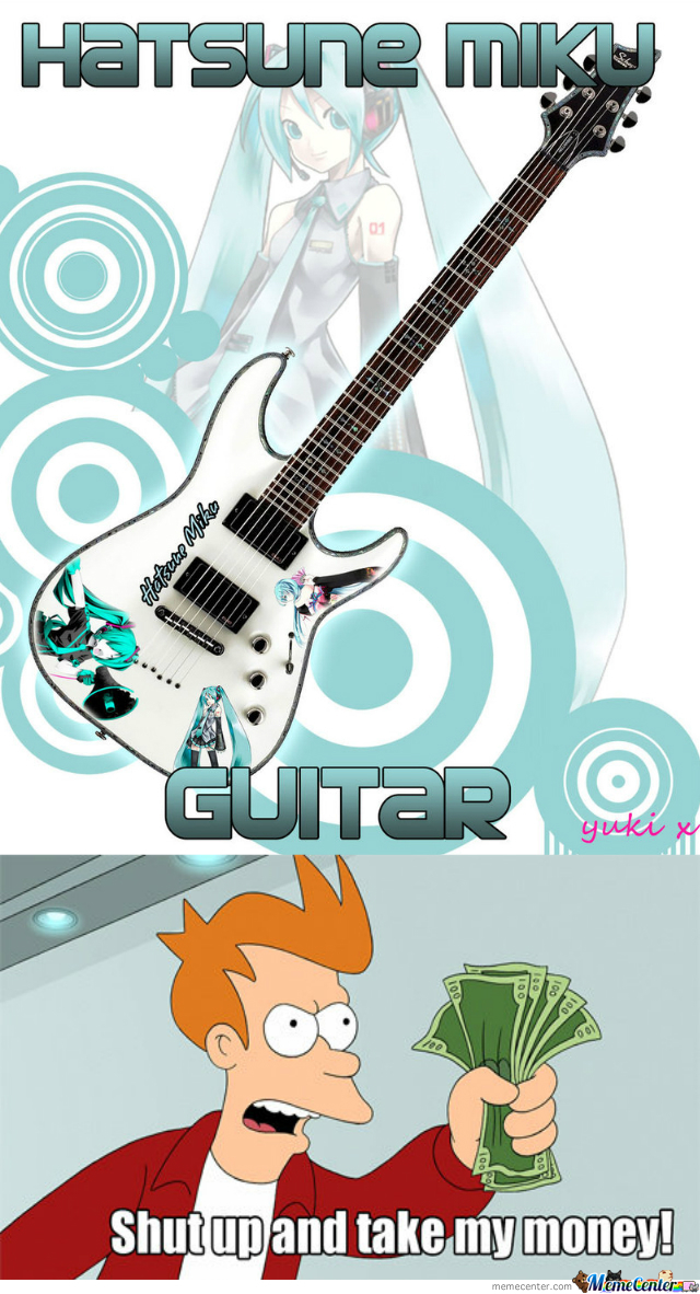Because Vocaloids Need A Guitarist