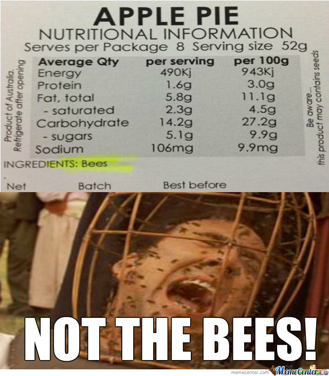 Bees!! Oh God, Not The Bees!!