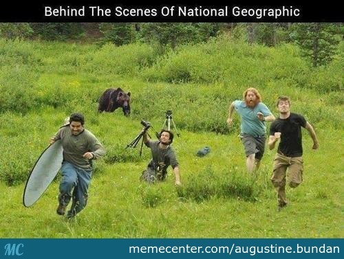 Behind The Scenes Of National Geographic