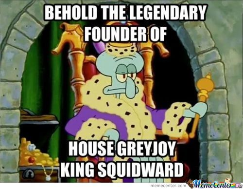 Behold The Legendary Founder Of House Greyjoy