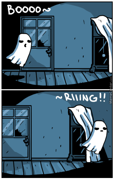 Being A Ghost