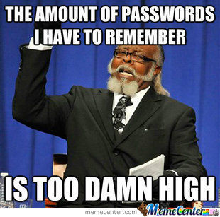 Being A Person Who Doesnt Use 1 Password