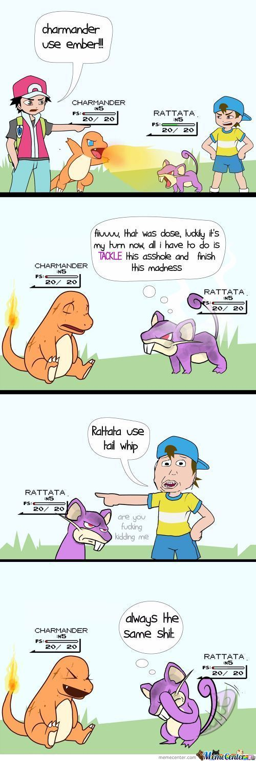 Being A Rattata Might Be Very  Hard