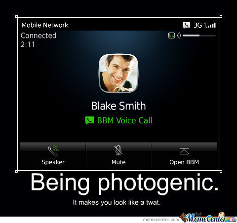 Being Photogenic On Bbm