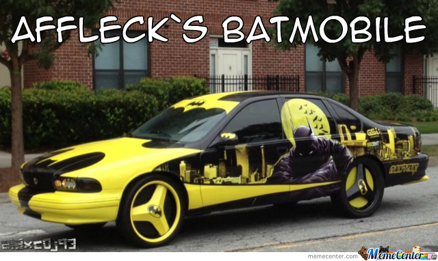 Ben Affleck`s New Ride...