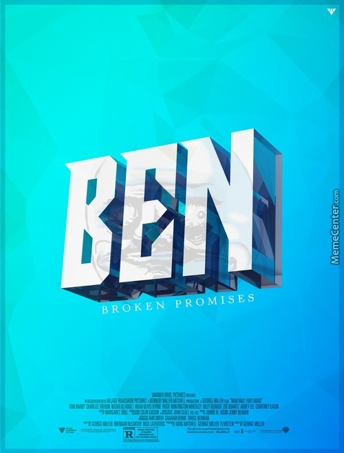"Ben Movie Poster, Coming ""very Soon"""