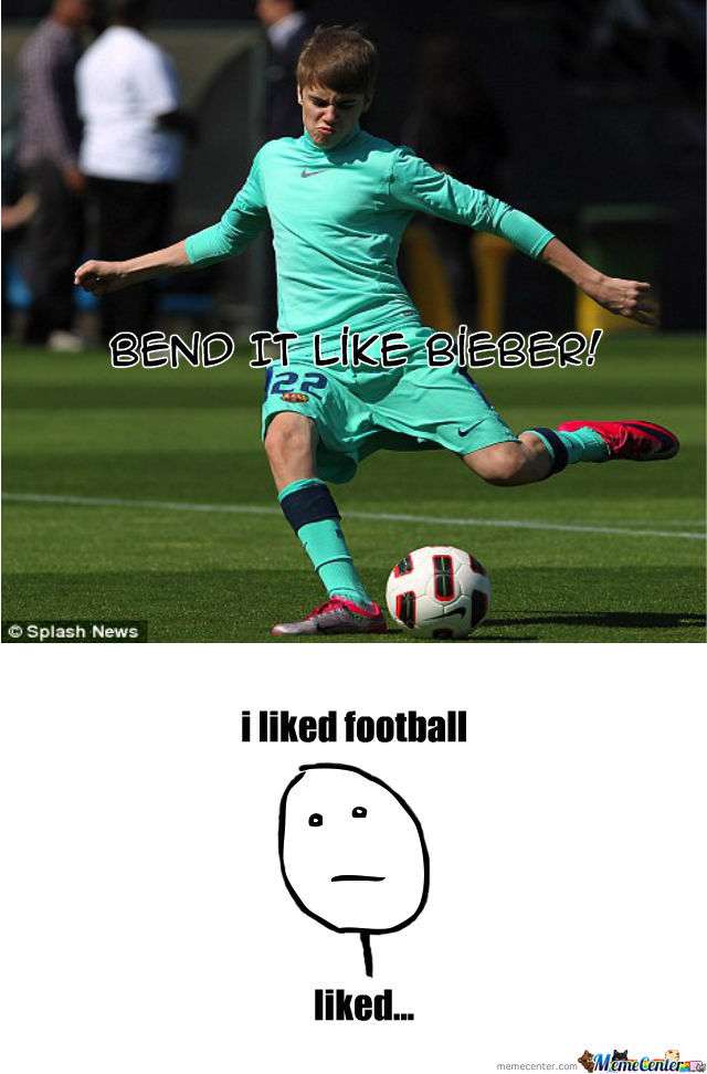 Bend It Like Bieber!