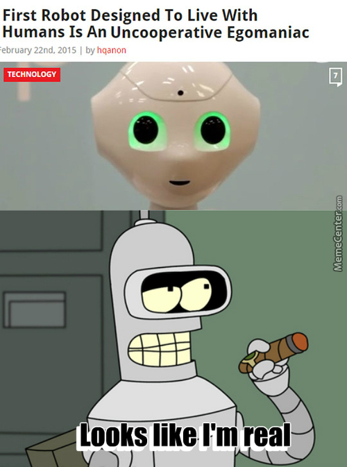 Bender Is Becoming Reality!