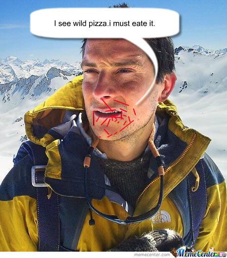 Bera Grylls Pizza