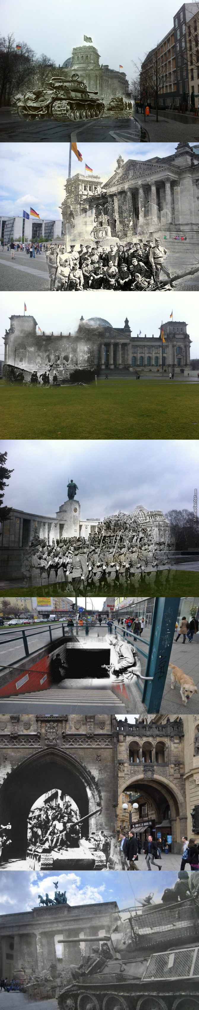 Berlin, Then And Now