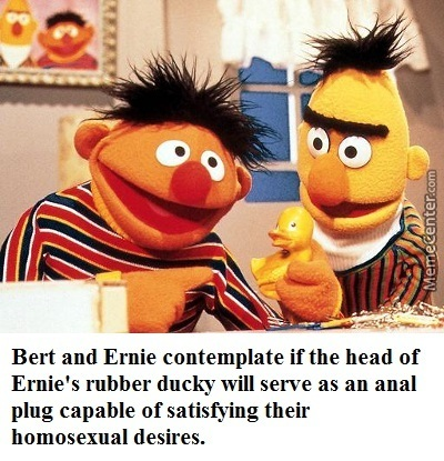 Are bert and ernie gay