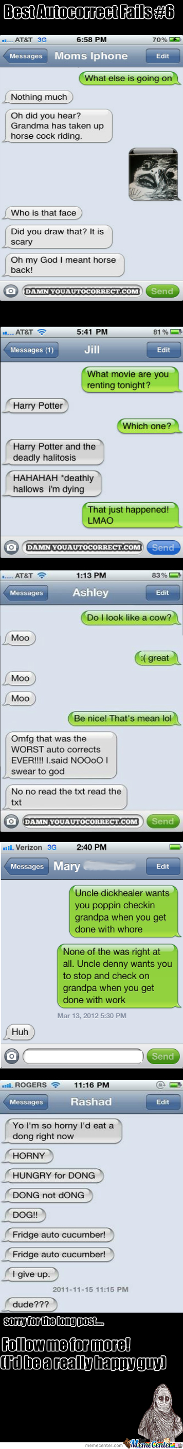 Best Autocorrect Fails #6