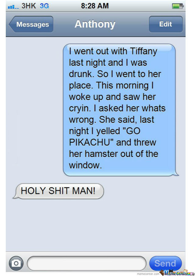 Best...drunk... Story... Ever!