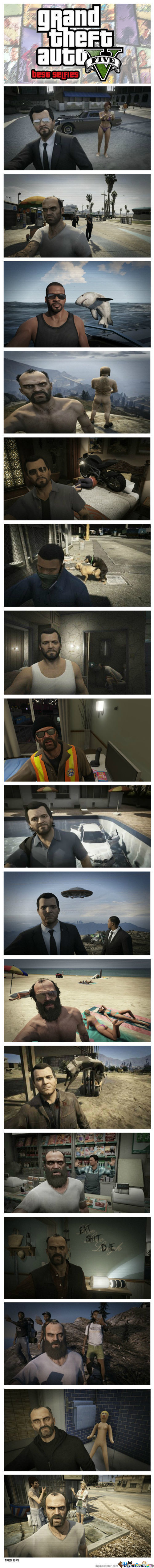 Best Gta V Selfies So Far