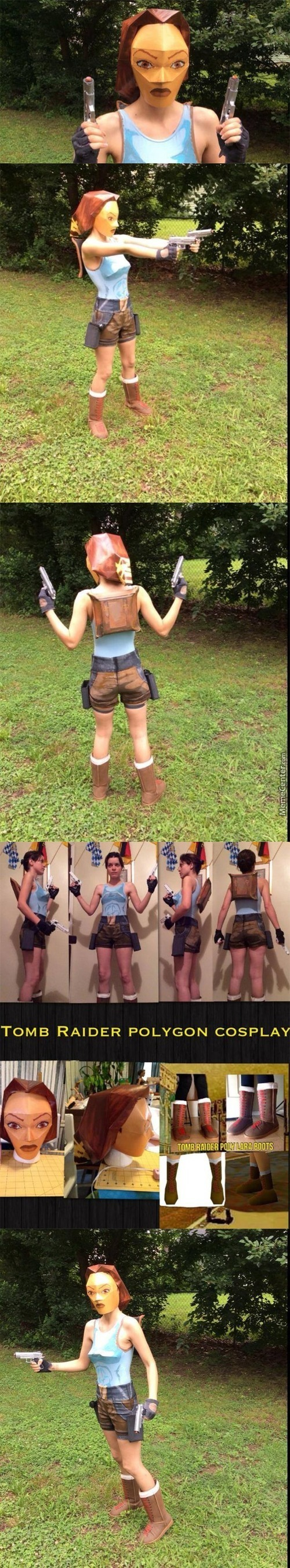 Best Laura Croft Cosplay Of All Time, Look At Dat Triangle Boobs And Dat Square Ass
